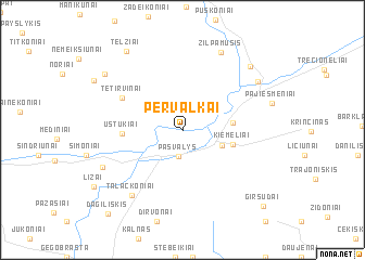 map of Pervalkai