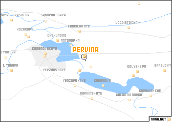 map of Pervina