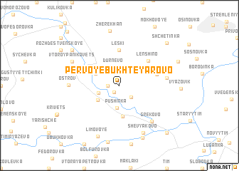 map of Pervoye Bukhteyarovo