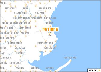 map of Petibre
