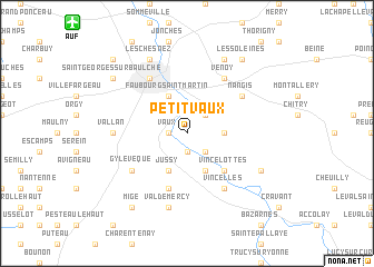 map of Petit Vaux