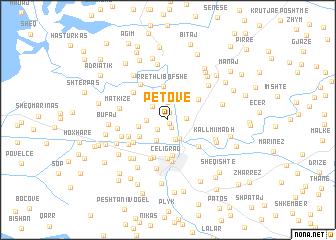 map of Petovë