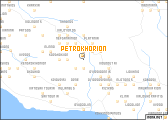 map of Petrokhórion