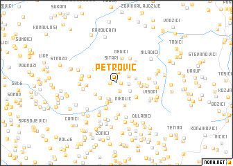 map of Petrović