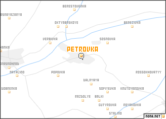 map of Petrovka