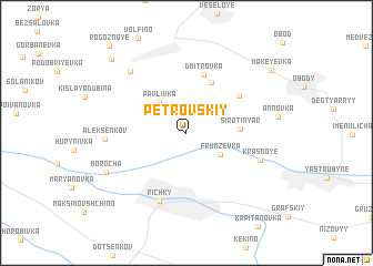 map of Petrovskiy