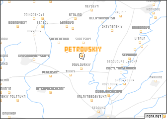 map of Petrovskiy