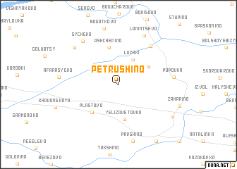 map of Petrushino
