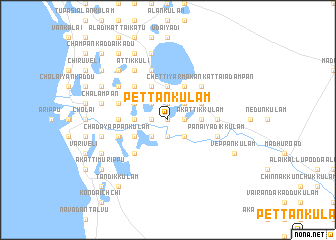 map of Pettankulam