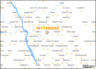 map of Petthangon