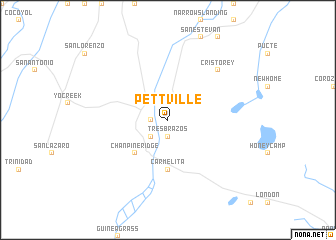 map of Pettville