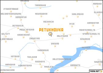 map of Petukhovka