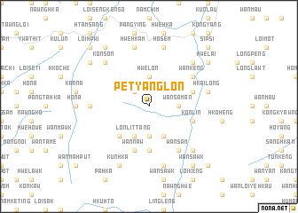 map of Pet-yanglon