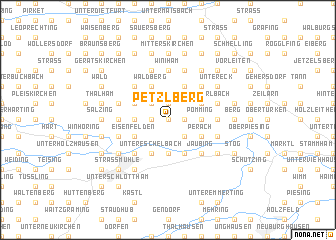 map of Petzlberg