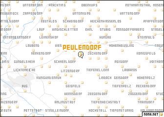 map of Peulendorf
