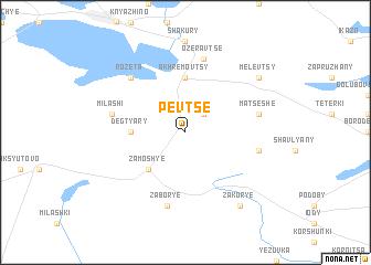 map of Pevtse