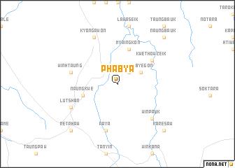 map of Phabya