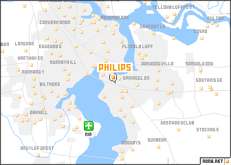map of Philips