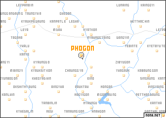 map of Phogon