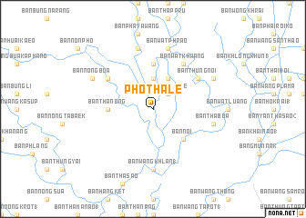map of Pho Thale