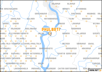map of Phulbāti