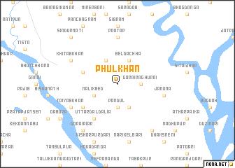 map of Phul Khān