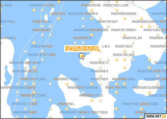map of Phumĭ Âmpĭl