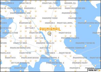 map of Phumĭ Âmpĭl