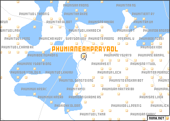 map of Phumĭ Anéam Prâyaôl