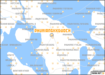 map of Phumĭ Ângk Kduŏch