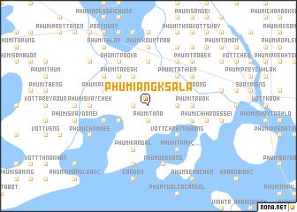 map of Phumĭ Ângk Sala