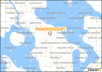 map of Phumĭ Ângk Svay