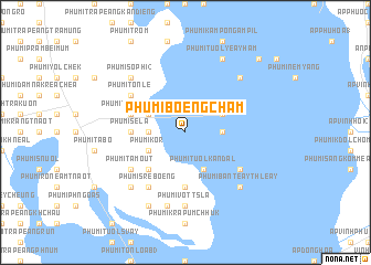 map of Phumĭ Bœ̆ng Cham