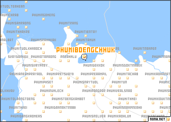 map of Phumĭ Bœ̆ng Chhuk