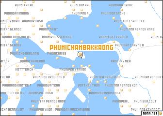 map of Phumĭ Châmbák Kaông