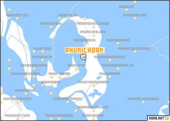 map of Phumĭ Chŏâm