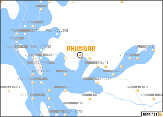 map of Phumĭ Dar