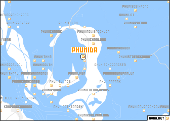 map of Phumĭ Da