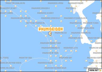 map of Phumĭ Dei Dŏh