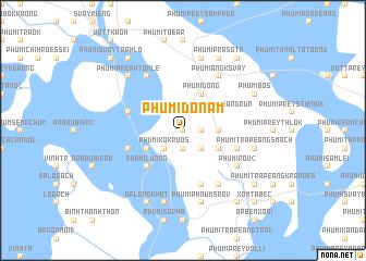 map of Phumĭ Don Am