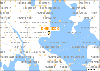 map of Phumĭ Kák