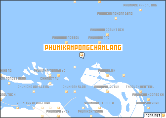 map of Phumĭ Kâmpóng Châmlâng