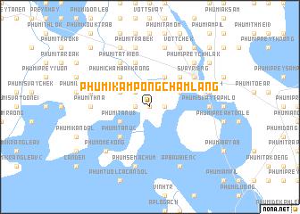 map of Phumĭ Kâmpóng Châmlâng