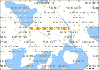 map of Phumĭ Kâmpóng Tasuŏs