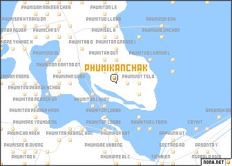 map of Phumĭ Kânchak