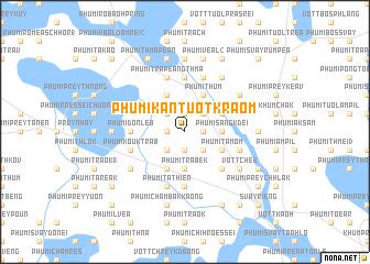 map of Phumĭ Kântuŏt Kraôm