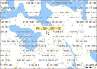 map of Phumĭ Kdam Pir