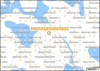 map of Phumĭ Kdei Sâmraông