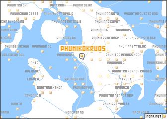 map of Phumĭ Kôkruŏs