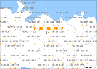 map of Phumĭ Koŭk Ph\